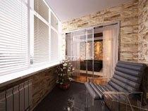 ремонт, отделка балкона в Саратове