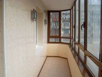 Отделка балкона в Саратове. Отделка лоджии